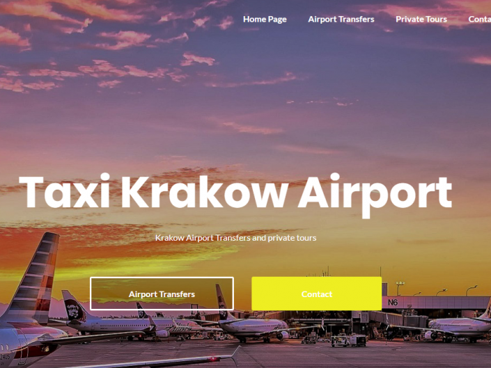 Taxi Krakow Airport